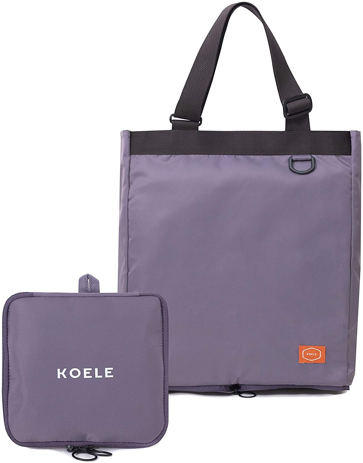 Foldable, Transform and Simple 100% Nylon waterproof and adjustable for tote, pouch and grocery bags
