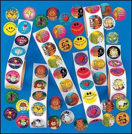 Autom Religious Sticker Assortment