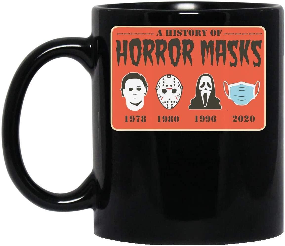 A History Horror Masks Mug Black 01_03 MUG 11oz