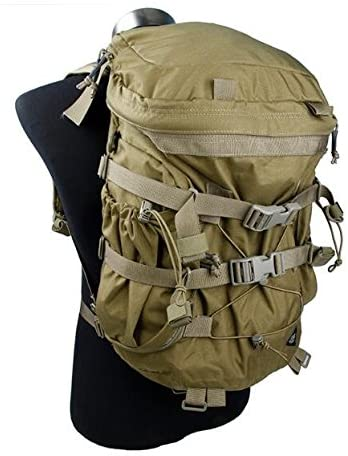 TMC Urban Zip (Khaki) Backpack Bag for Tactical Airsoft Hunting Outdoor Game