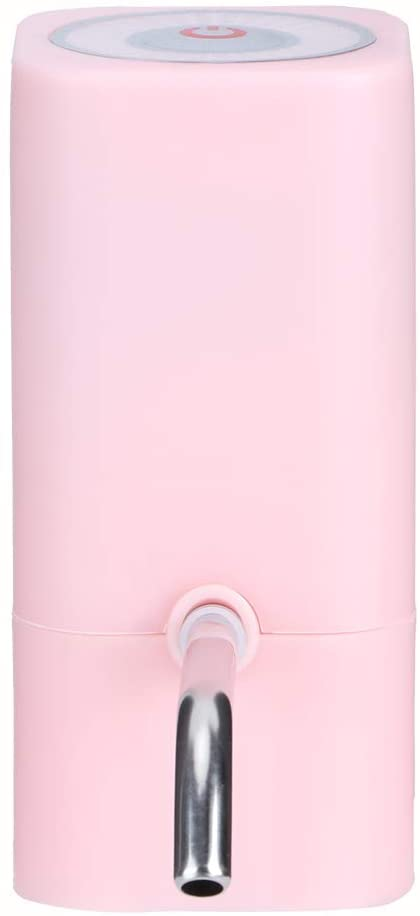 Oyunngs Household Supplies Rapid Water Dispensing Water Bottle Pump, Water Dispenser, Convenient Outdoors Camping for Office for Home(Pink)