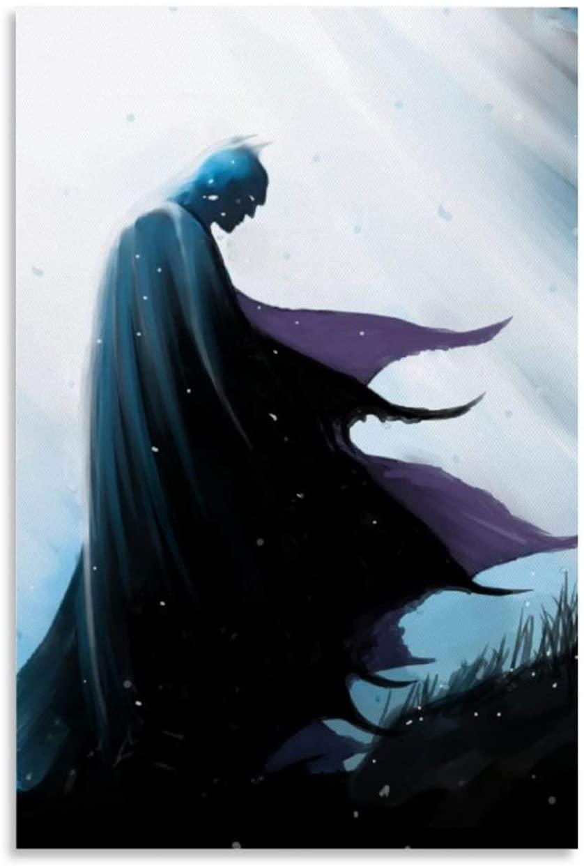 SSKJTC ModernHomeDecor Superhero Batman Cartoon Comic Animation Art Canvas Wall Art Posters 08x12inch(20x30cm)