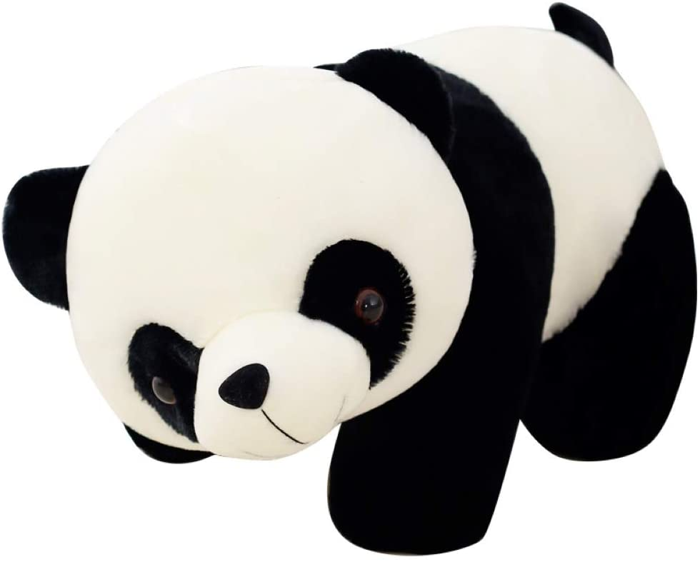 Galand Panda Stuffed Doll,Cute Cartoon Panda Cotton Stuffed Doll Soft Plush Toy Kids Gift Home Party Decor 30cm