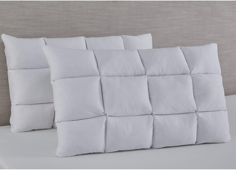 Slumber Solutions Reversible Puff with NRGel Memory Foam Pillow Single