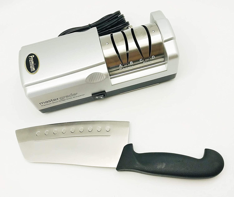 Master Grade Premium Knife Sharpener Bundle Deal with Martin Yan's Chef Knife