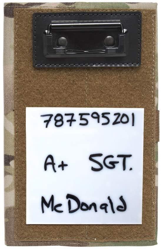 Tactical Notebook Covers Detachable Mini Whiteboard/Dry Erase Board/Portable Whiteboard