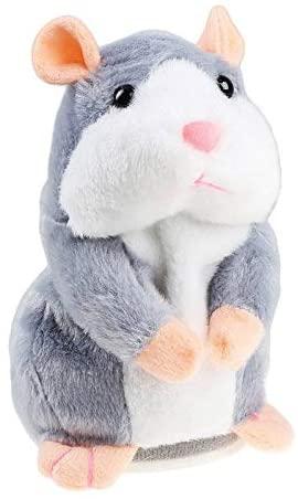 SH-RuiDu Portable Talking Hamster Mimicry Pet Plush Toy Kids Speak Sound Record Toy Birthday Xmas Gift