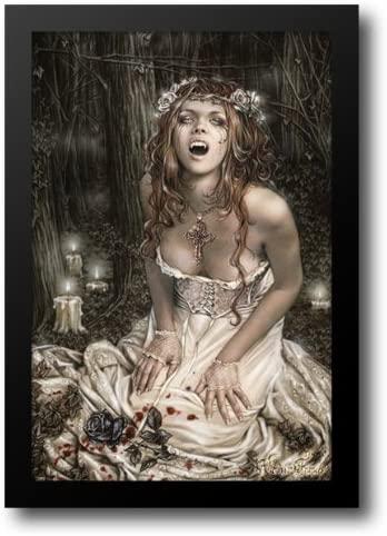 Vampire Girl 20x24 Framed Art Print by Frances, Victoria