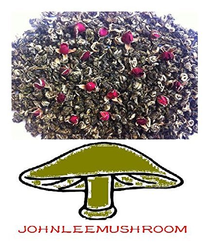 Rose flower green tea high grade with 710 grams loose leaf bag packing