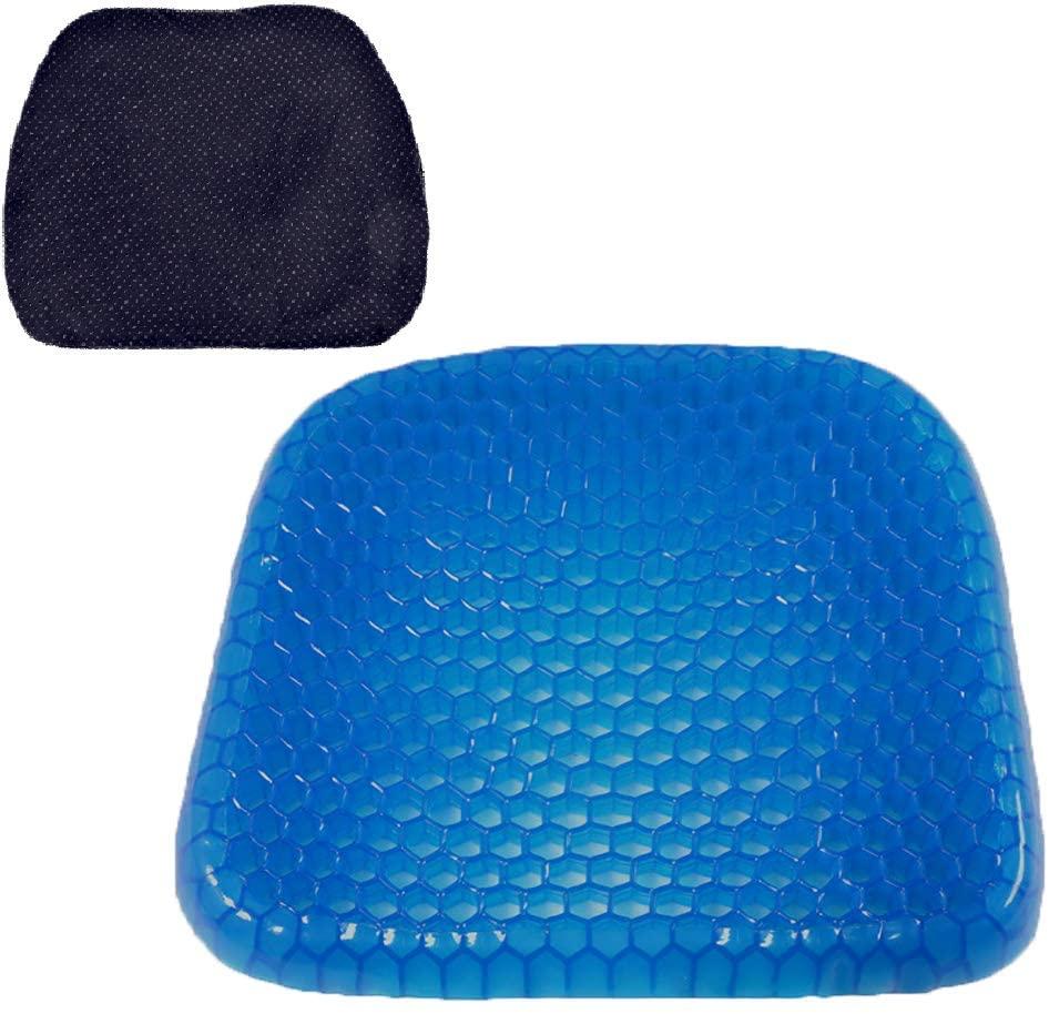 Durable Gel Cushion Home Living Room Bedroom Sofa Chair Cushion Massage Elastic Cushion Environmental Protection Sweaty Bottom, Durable, Portable