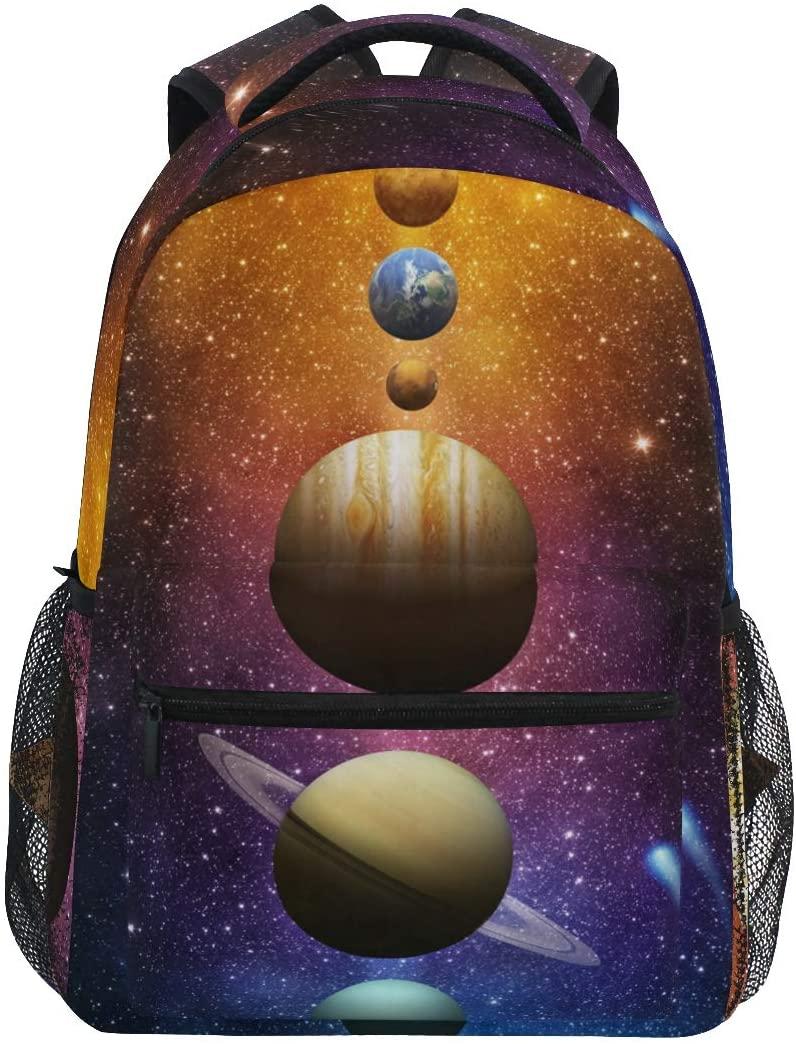 Mr.Lucien Planet Backpack Space School bag BookBag for Boys Girls 2021398