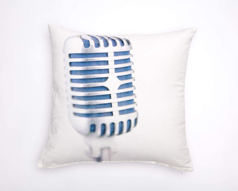 Ikea Gunlog Microphone 100% Cotton Velvet 20