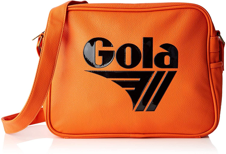 Gola Unisex-Adult Redford Tournament Messenger Bag Orange (Orange/Black)