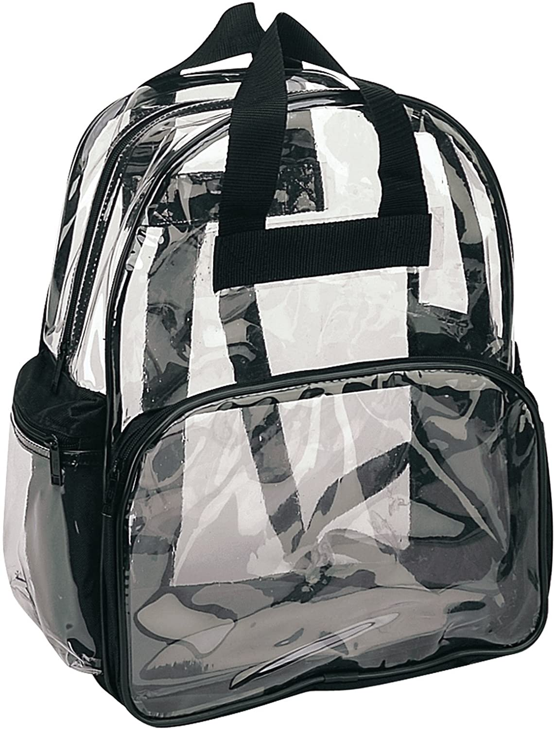 ProEquip Travel Bag Clear Unisex Transparent School Security Backpack Stadium Bag(Clear)