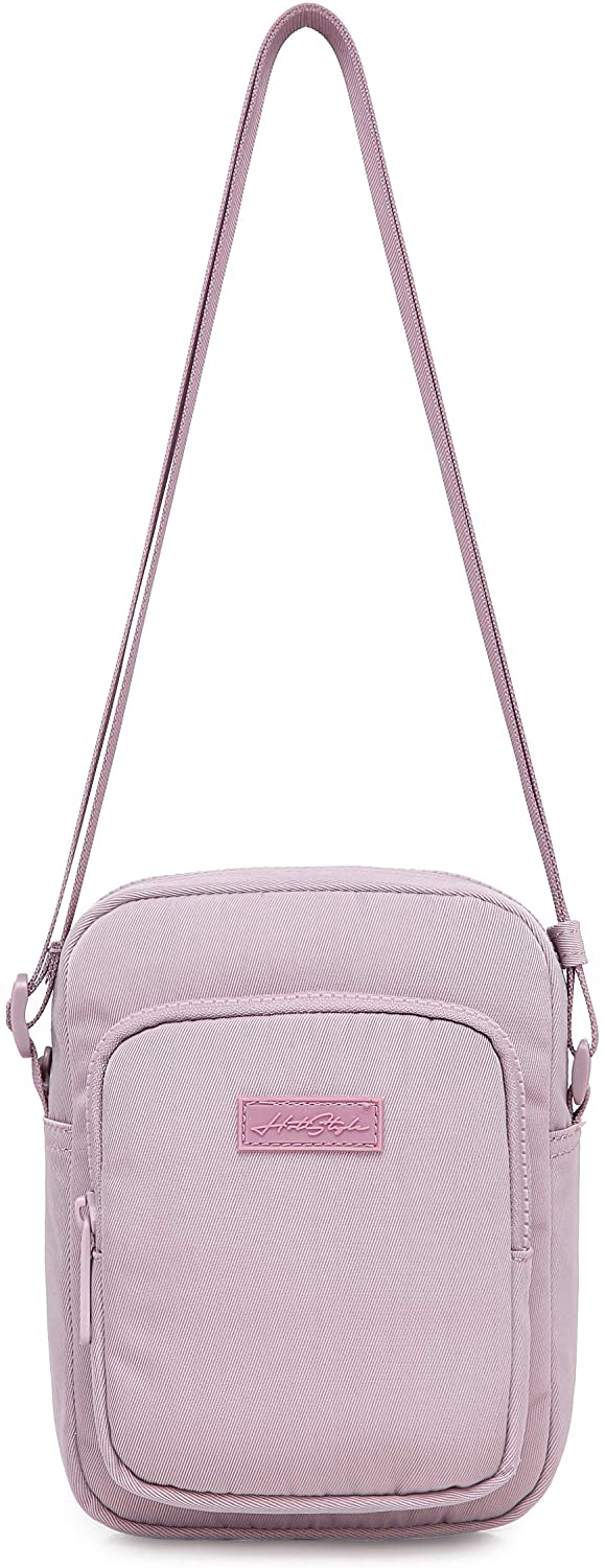 7501s Small Shoulder Bag Travel Purse for Women & Teen Girls, Little Crossbody Cell Phone Gym Pouch, Thistle