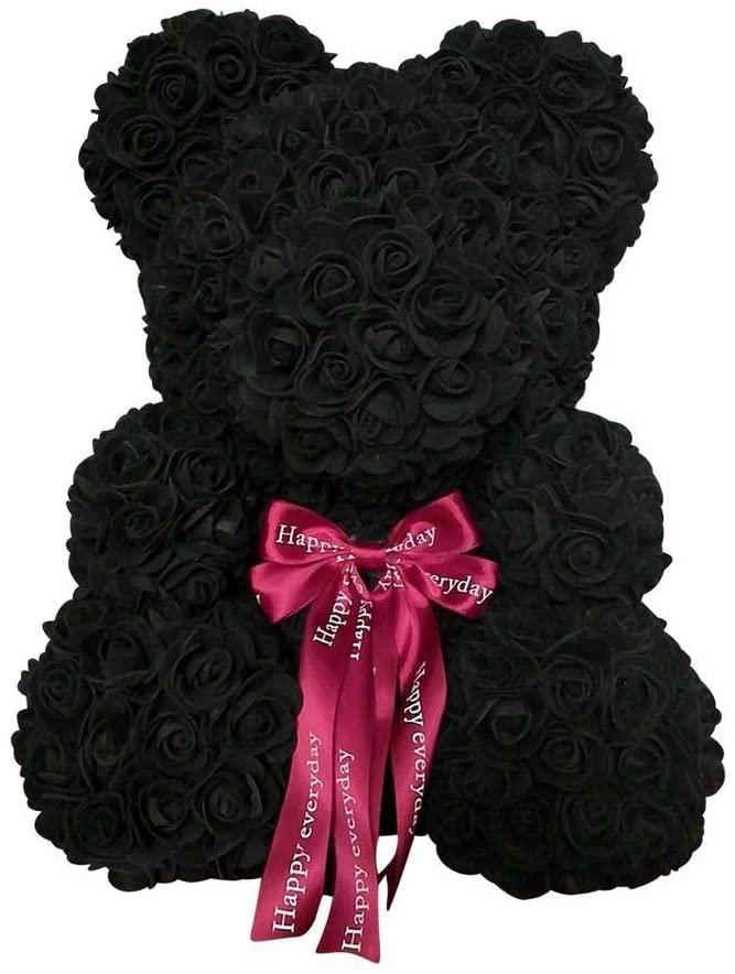 tigerlee. Teddy Bear Rose Bear Artificial Rose Anniversary Christmas Valentines Gift (16