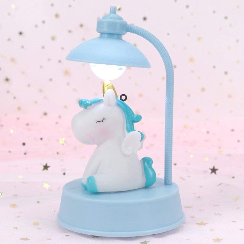 VASTAIR Unicorn Night Light Dimmable Nightlight Bedside Lamp Music Box Baby Nursery Night Lamp Bedroom Decorative Night Light Best Unicorn Toys Birthday Gifts for Girls Boys( #2)
