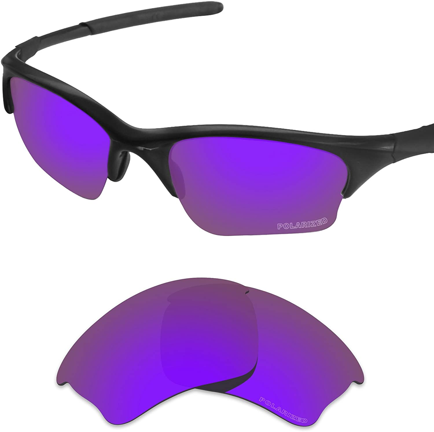 Tintart Performance Lenses Compatible with Oakley Half Jacket XLJ Polarized Etched