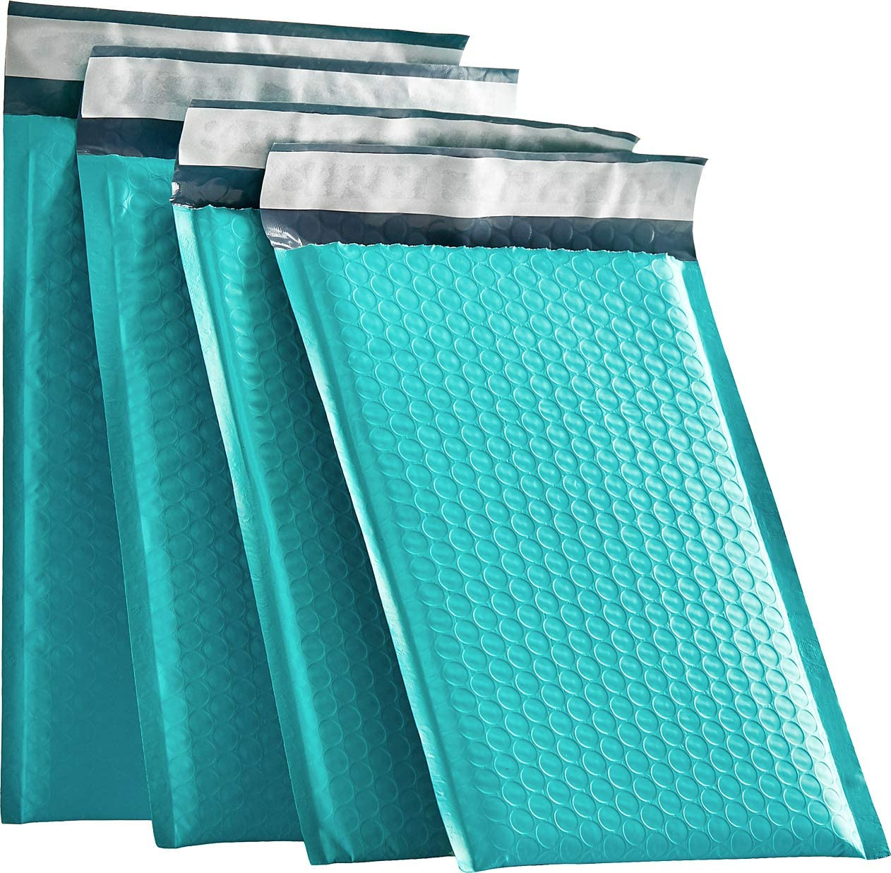 XCGS 6x10 Inch Green Padded Bubble Mailers Pack of 25 Padded Bubble Envelopes #0 Self Sealing Bubble Mailing Envelope Bags for Shipping and Packaging (Usable Size: 6x9