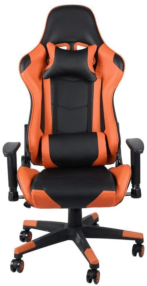 LONGJUAN-C Computer E-Sports Chair Office Chairs Office Chair Racing Game Chair Chairs Indoor Lumbar Support Neck Protection for Working Gaming (Color : Picture Color, Size : 70X70X127CM) Office