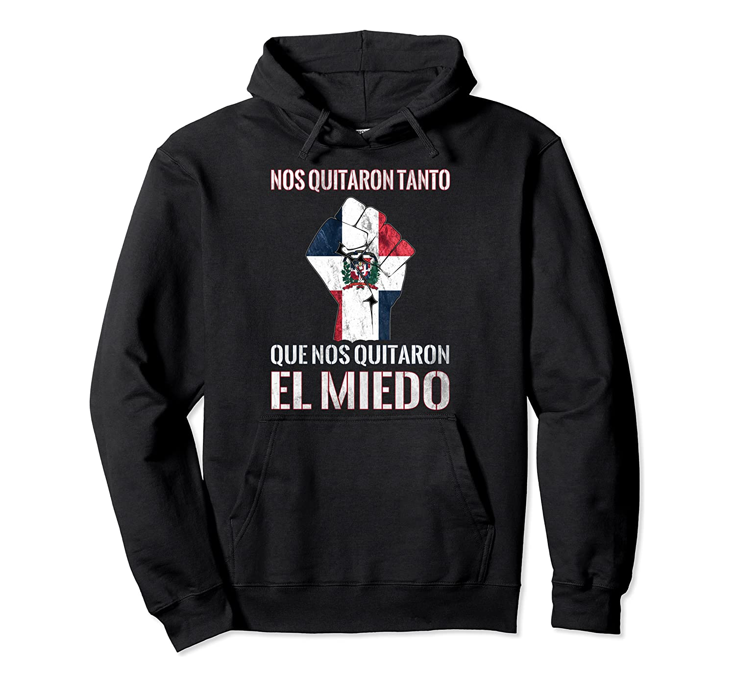 Dominican Republic Flag Fist Dominican Election 2020 Protest Pullover Hoodie