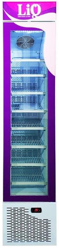 105L Commercial Ice Cream Glass Door Display Freezer