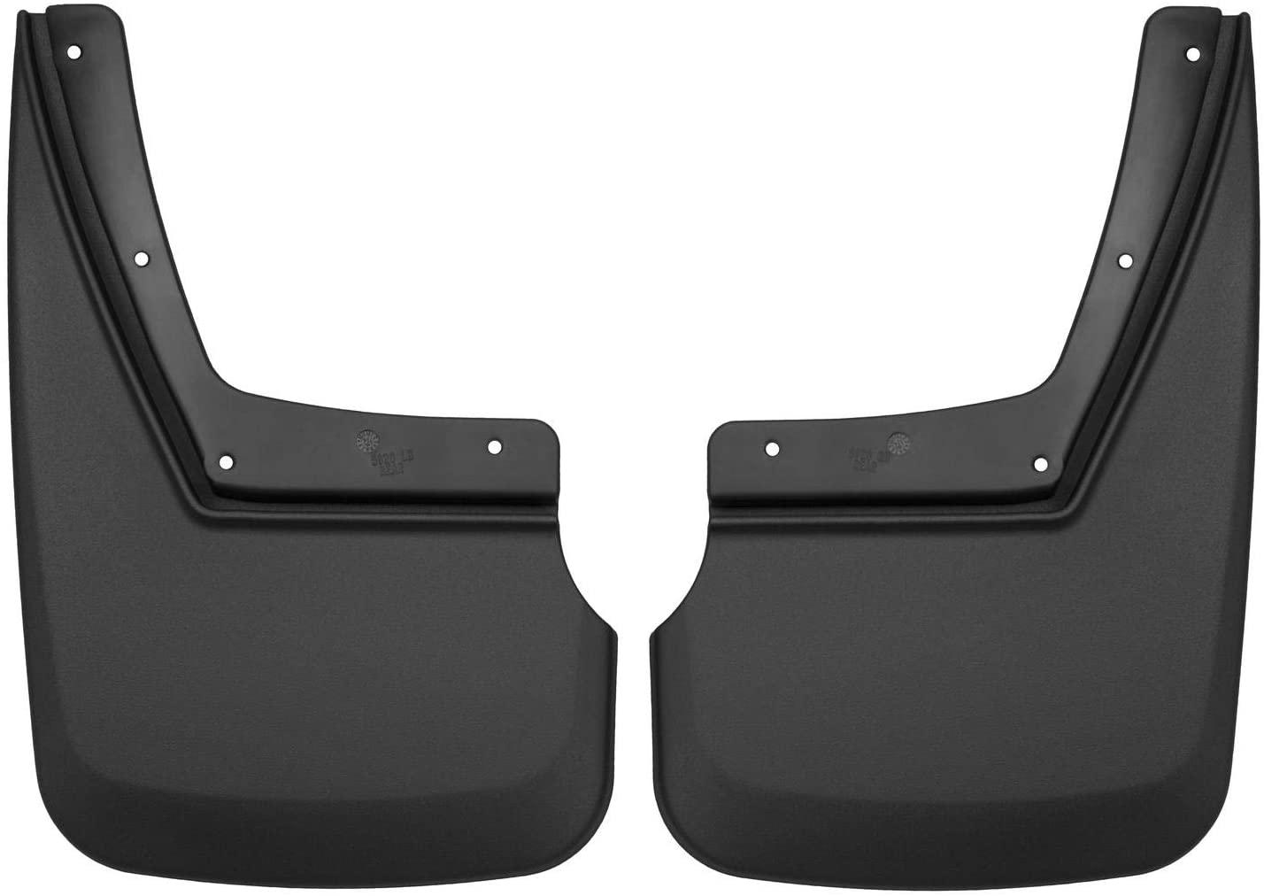 Husky Liners 59201 Fits 2015-20 Chevrolet Tahoe Custom Rear Mud Guards, Black