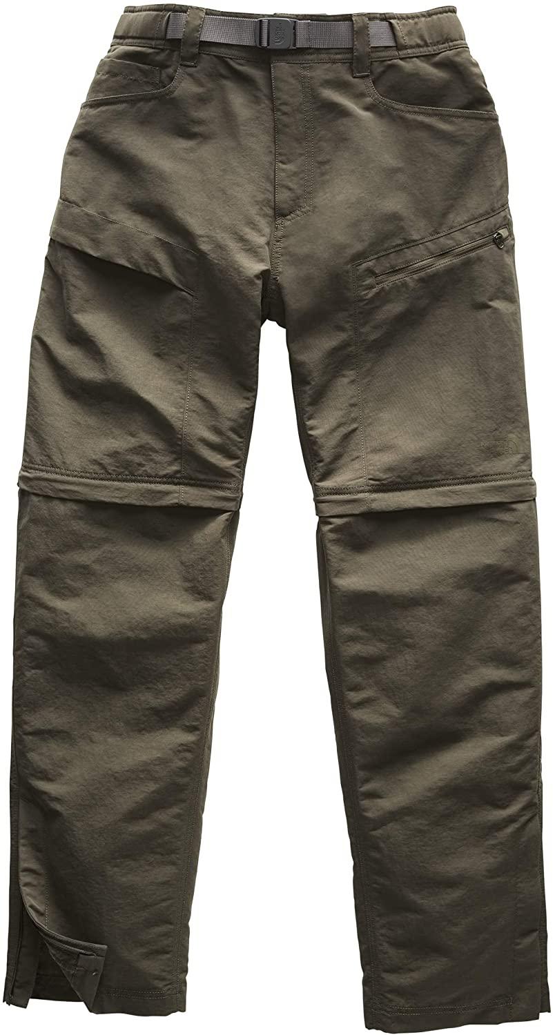 The North Face Men's Paramount Trail Convertible Pant, New Taupe Green, Large, Regular