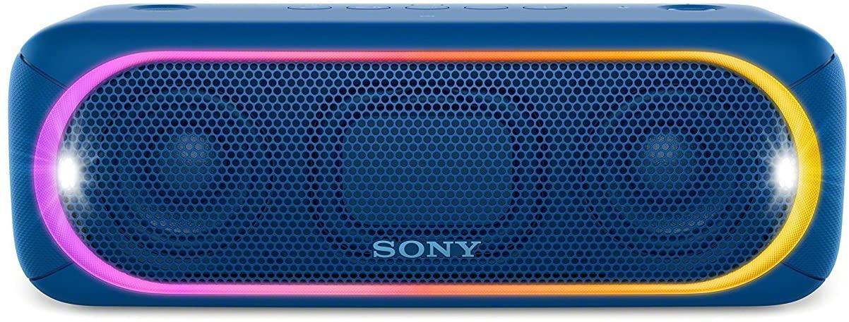 Sony SRSXB30/BLUE Portable Wireless Speaker with Bluetooth, Blue