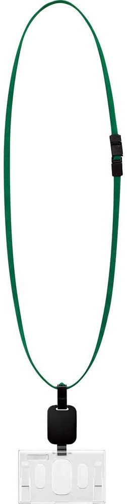Kokuyo hanging name tag reel green hook parts adopt hard case naphthoquinone -R280G