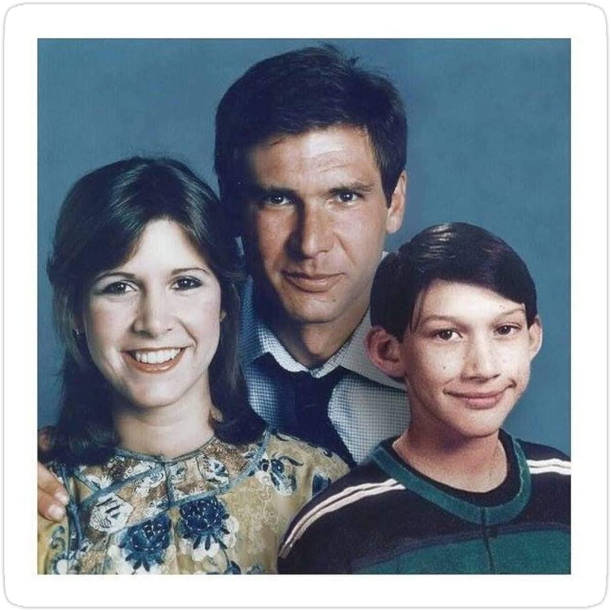 Stickers Solo Family Portrait Books (3 Pcs/Pack) Car Vinyl 3x4 Inch Decals