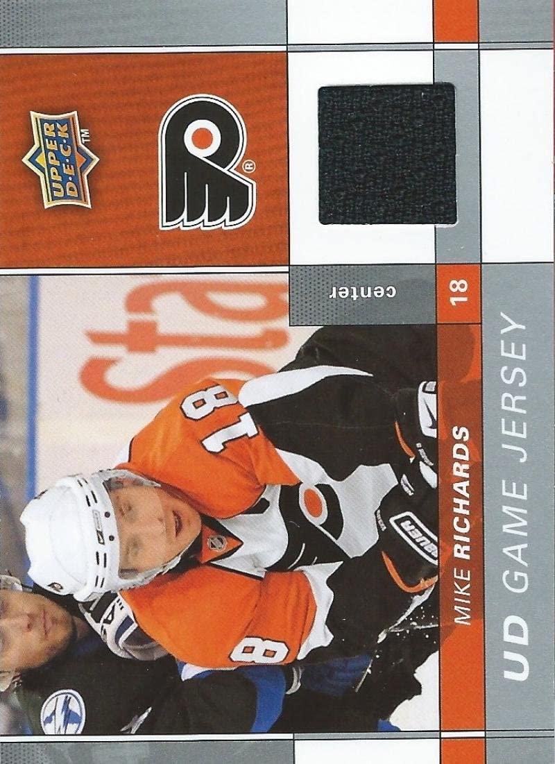 2009-10 Upper Deck Game Jerseys #GJRI Mike Richards NHL Hockey 04583