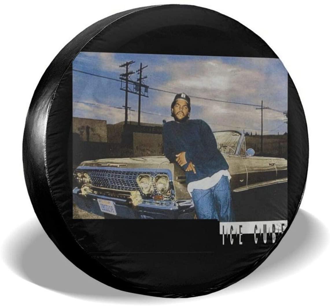 Ice Cube Spare Tire Gap Trailer Rv Truck 14 15 16 17 Inch Sunscreen Dustproof Dustproof Wheel Cover.