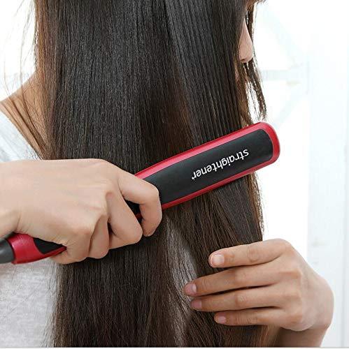electric Hair Straightener ceramic fast heating styler Straightening Brush comb straighter beauty hairstyling salon hairdress