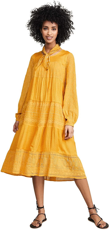 Free People Women's Gemma Midi Dress
