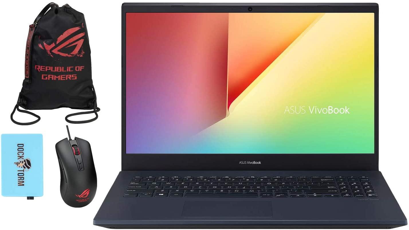 ASUS VivoBook K571 Gaming and Entertainment Laptop (Intel i7-10750H 6-Core, 16GB RAM, 7.6TB SATA SSD, NVIDIA GTX 1650 Ti, 15.6