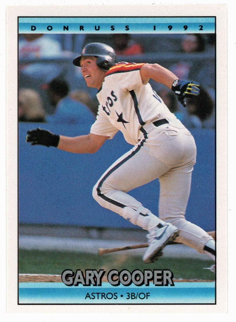 Gary Cooper (Baseball Card) 1992 Donruss # 774 Mint
