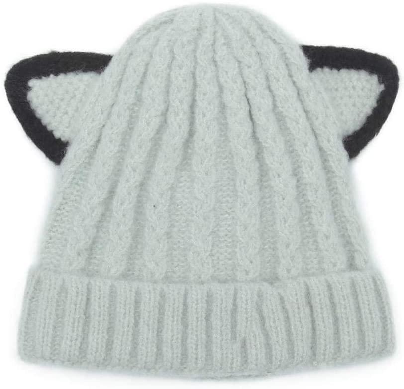 Myzixuan Baby Hat Fall-Winter 3-18-month Children's Cap Baby Warmer Sweater Cap