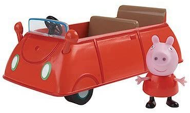 Peppa Pig New Mini Vehicle Car with Figure Toy Playset 3+
