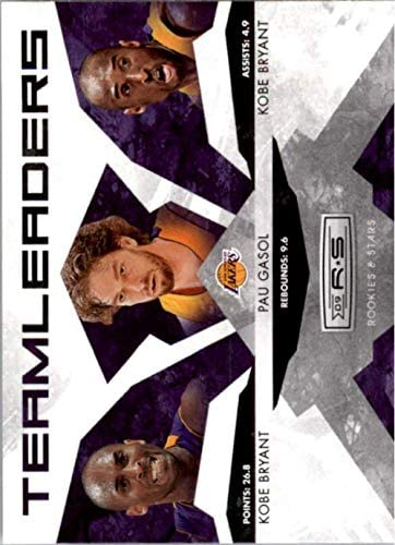 2009-10 Rookies and Stars Team Leaders #13 LAKERS Pau Gasol/Kobe Bryant