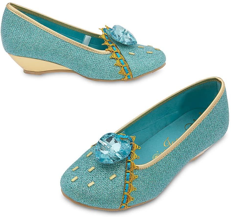 Disney Jasmine Costume Shoes Kids 13/1 Blue