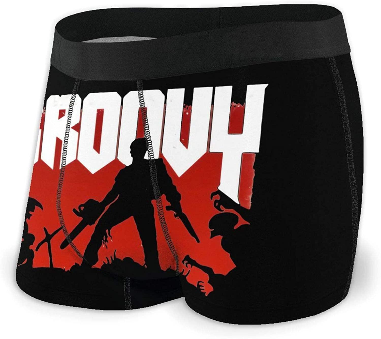 ENXOWM Theevil-Dead Cartoon Comfortable Breathable Soft and Cool Underwear Black
