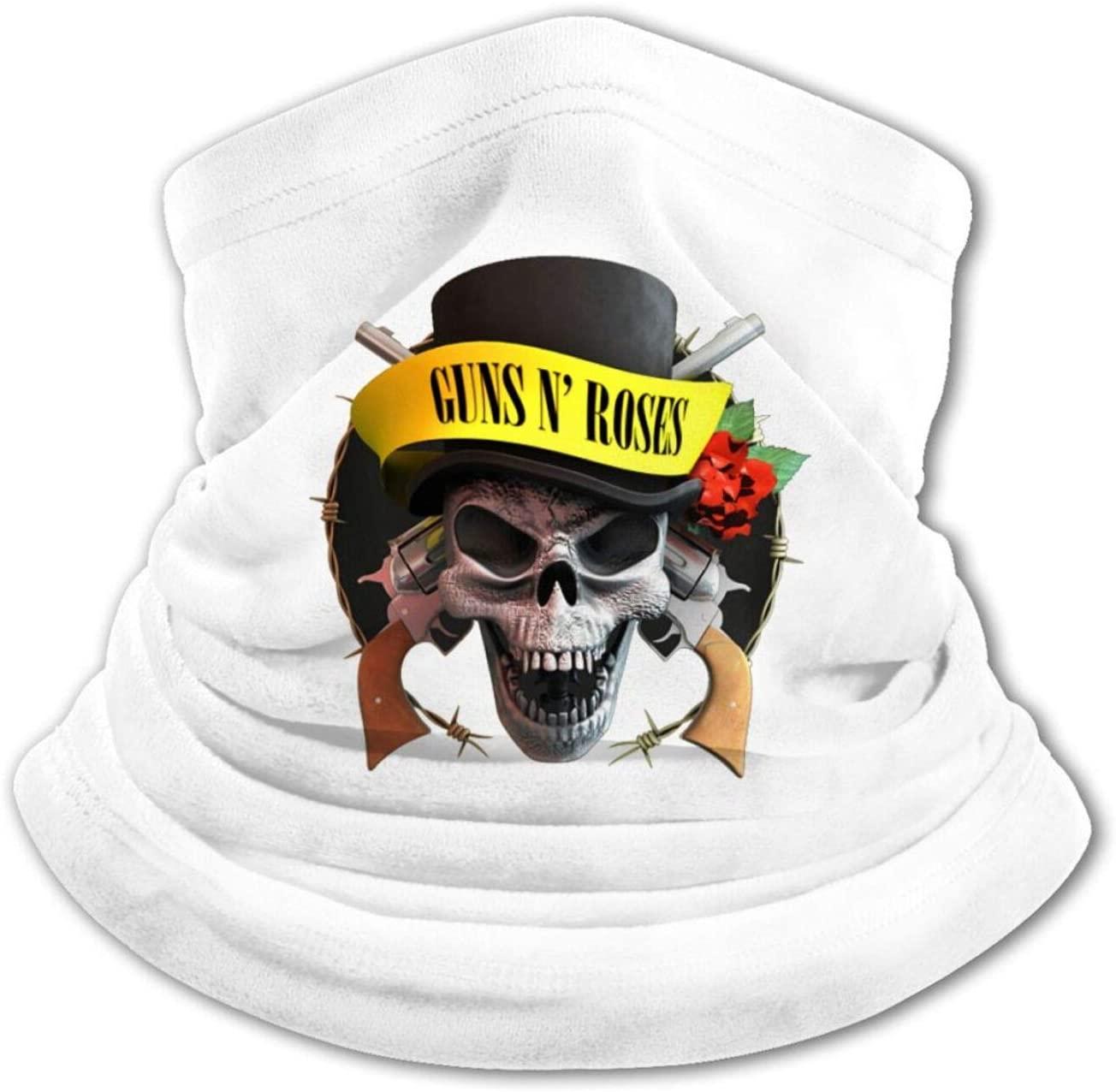 Fejarx Guns-N'-Roses Ice Silk Dustproof Stretch Scarf Outdoor