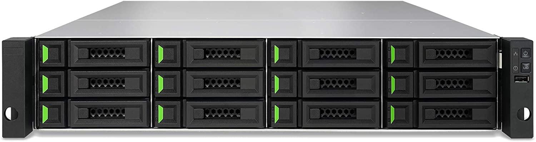 XCubeSAN XS3212D Dual-Active RAID Controller, 4X 10GBASE-T iSCSI Ports, 2U 12-Bay, Intel 4-core Processor x2