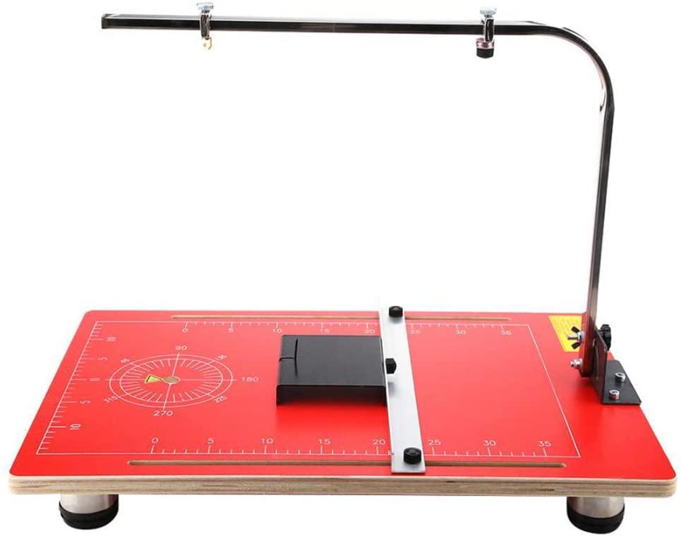 SUQIAOQIAO Vertical Foam Cutting Machine Wire Foam Cutter Table with Hot-Wire Form Cutting Machine 3858cm