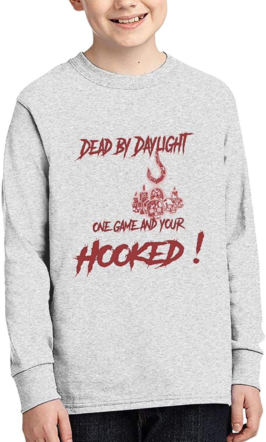Dead B_Y Day_Light Casual Junior Round Neck Long Sleeve Lightweight Long Sleeve T Shirt