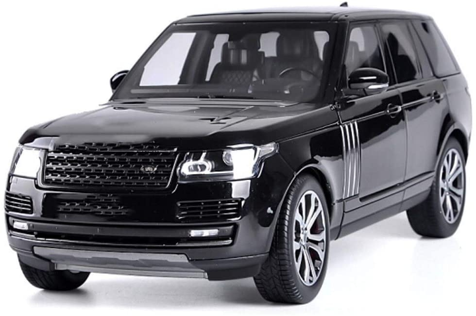 Hty 1:18LCD Land Rover Range Rover Executive Edition Car Model Simulation Alloy Car Model Collection Decoration Gift (Color : Black)
