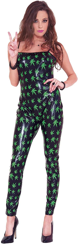 Music Legs Women's Marijuana Jumpsuit