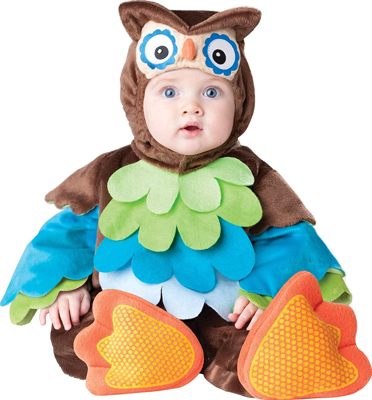 Deluxe Baby Boys Girls What a Hoot Owl Animal Bird in Character Halloween Fancy Dress Costume Outfit