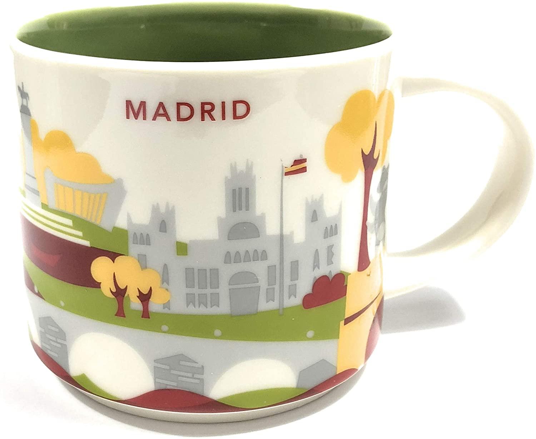 Starbucks You Are Here YAH City Mug - MADRID, Spain.